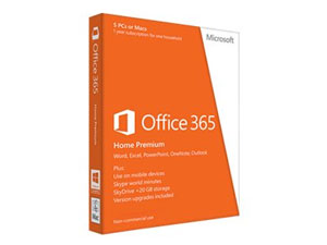 SW Msf Office 365 Home Premium 32/64 Esp 1y Suscripcion